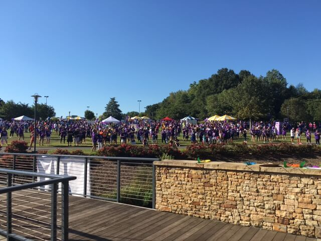 2016 Walk To End Alzheimers Participants