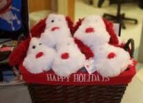 Holiday Blood drive gift basket