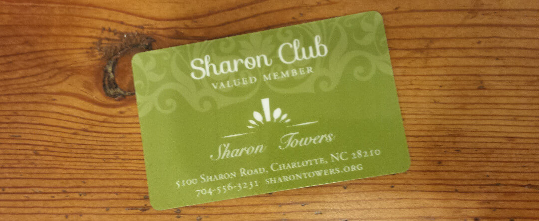 Sharon Club Card